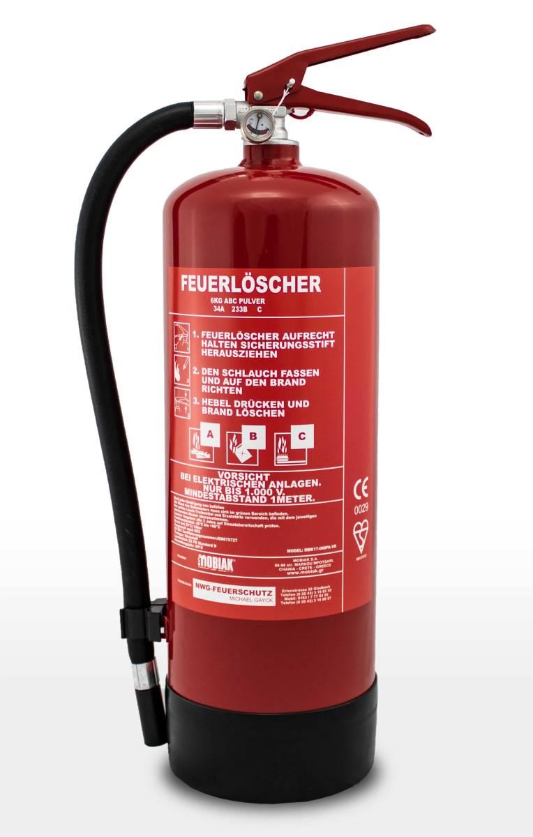 Hervorragend 6 Kg Pulver Dauerdruck Löscher DA67